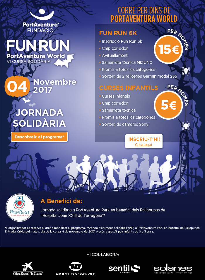 FUN RUN PortAventura World